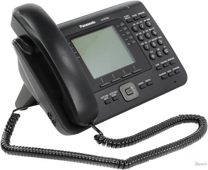 Проводной телефон Panasonic KX-NT560RU-B