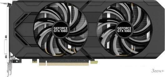 Видеокарта Gainward GeForce GTX 1060 6GB GDDR5 [426018336-3712]