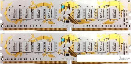 Оперативная память GeIL Dragon 2x8GB DDR4 PC4-24000 [GWW416GB3000C15DC]