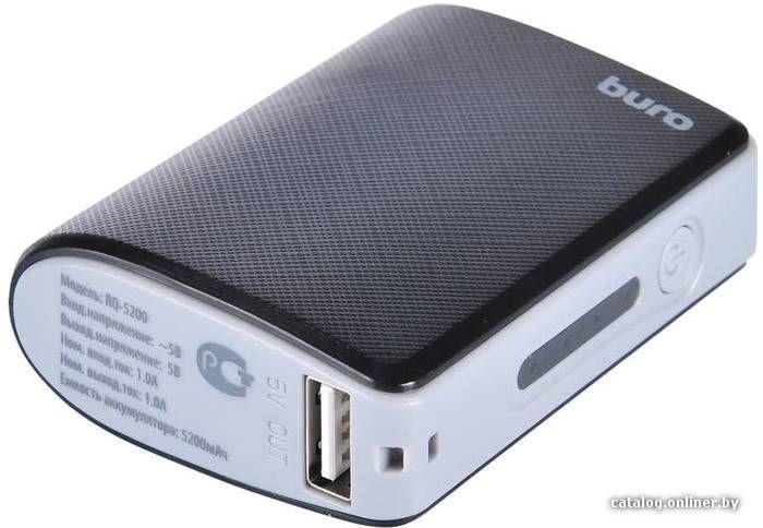 Портативное зарядное устройство Buro RQ-5200
