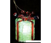 3D-фигура Neon-night Новогодний подарок на подставке, RGB [501-049]