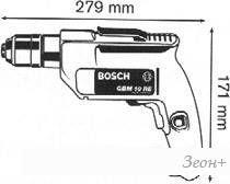 Безударная дрель Bosch GBM 10 RE