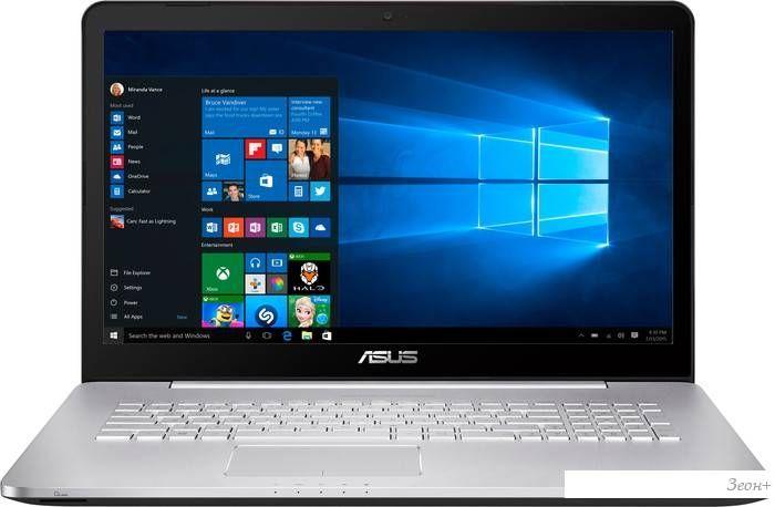 Ноутбук ASUS VivoBook Pro N752VX-GC133T