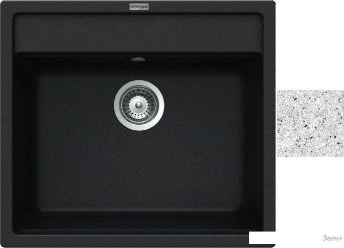 Кухонная мойка Gerhans A12 (серый)