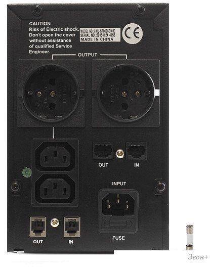 Источник бесперебойного питания CrownMicro CMU-SP800 COMBO