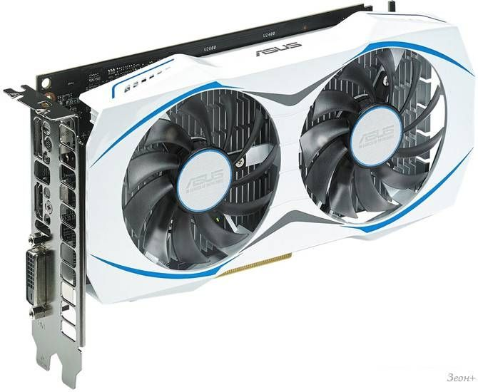 Видеокарта ASUS Radeon RX 460 2GB GDDR5 [DUAL-RX460-2G]