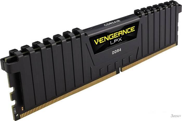 Оперативная память Corsair Vengeance LPX 2x16GB DDR4 PC4-17000 [CMK32GX4M2A2133C13]