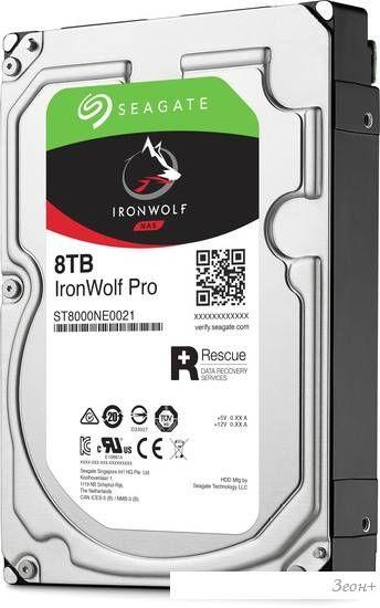 Жесткий диск Seagate Ironwolf 8TB [ST8000VN0022]
