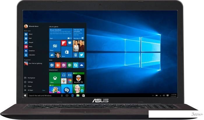 Ноутбук ASUS K756UV-TY045T