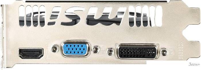 Видеокарта MSI GeForce GT 730 2GB DDR3 [N730-2GD3V3]