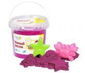 Набор для детского творчества Умный песок 1 Розовый DREAM MAKERS SSR101 4814723002151