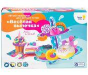 Набор для детской лепки из легкого пластилина Весёлая выпечка DREAM MAKERS TA1717 4814723008108