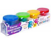 Набор для детского творчества Тесто-пластилин 4 цвета DREAM MAKERS TA1010V 4814723000362