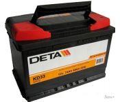 Автомобильный аккумулятор DETA Standard DC 440 (44 А/ч)