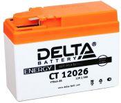 Мотоциклетный аккумулятор Delta CT 12026 (2.5 А·ч)