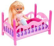 Кукла Bondibon OLY с кроваткой ВВ3994