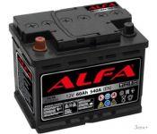 Автомобильный аккумулятор ALFA Hybrid 60 L (60 А·ч)