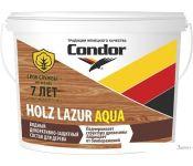 Пропитка Condor Holz Lazur Aqua (2.5 кг, белый молочный)