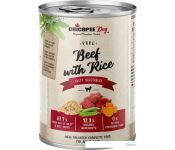 Консервированный корм для собак Chicopee Adult говядина с рисом 400 г