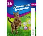 Наполнитель для туалета Кошкина Полянка Силикагелевый (лаванда) 3.8 л