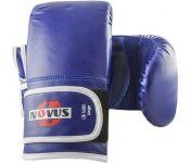 Перчатки для единоборств Novus LTB-16302 (L, синий)
