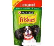 Корм для собак Friskies с говядиной в подливе 0.085