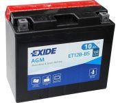 Мотоциклетный аккумулятор Exide ET12B-BS (10 А·ч)