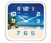 Часы настенные ENERGY EC-99 пляж, 1хАА