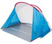 Палатка пляжная Jungle Camp Miami Beach (синий/серый)