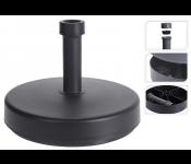 Основание д/зонта садового кругл.формы, д.46х11 см, пластик, цвет серый, арт. HS1100770
