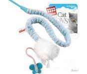 Игрушка для кошек GiGwi Дразнилка на стеке с пером 75112