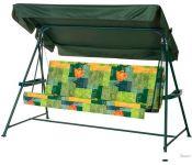 Садовые качели Удачная мебель Касабланка (зеленый 504)