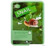 May Island Маска Real Essense Snail Mask Pack 25 мл