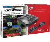 Игровая приставка Retro Genesis Modern Wireless (2 геймпада, 300 игр)