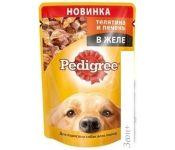 Корм для собак Pedigree для взрослых собак всех пород с телятиной и печенью 0.1 кг