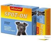 Капли Amstrel Spot-on для собак средних и крупных пород
