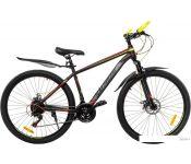 Велосипед RS Salzburg 27.5 р.18 2021 (черный/желтый)
