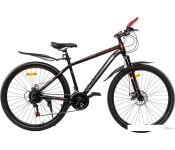 Велосипед RS Salzburg 27.5 р.18 2021 (черный/красный)