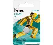 Элементы питания Mirex CR1220 Mirex литиевая блистер 1 шт. 23702-CR1220-E1