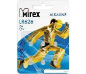 Элементы питания Mirex LR621 (AG1) Mirex блистер 6 шт. 23702-LR621-E6
