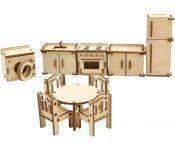 Аксессуары для кукольного домика ХэппиДом Кухня HK-M004