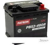 Автомобильный аккумулятор Patron Plus PB52-480R (52 А·ч)