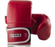 Перчатки для единоборств Novus LTB-16302 (L, красный)