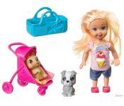 Кукла Bondibon OLY на прогулке с собачками ВВ3987