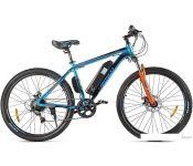 Электровелосипед Eltreco XT 600 D 2021 (синий/оранжевый)