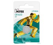 Батарейки Mirex CR1632 литиевая блистер 1 шт. 23702-CR1632-E1