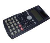 Калькулятор научный, 10 разрядов мантиссы + 2 разряда экспоненты, 240 функ., двойное питание, черный, размер 162х84х18мм арт US-23 Uniel