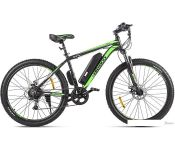Электровелосипед Eltreco XT 600 D 2021 (черный/зеленый)