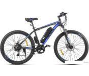 Электровелосипед Eltreco XT 600 D 2021 (черный/синий)