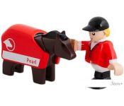 BRIO Лошадь с наездником 33793